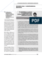 Creando Predictibilidad a Los Administrados en Materia de Competencia Para Analizar Posibles Vicios Sobre Publicidad Comercial
