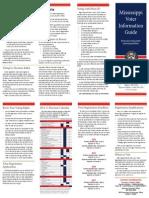 mississippi voter information guide  2014