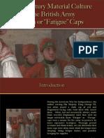 British Army - Cloth Caps