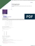 Matlab DTM Examples