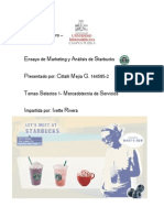 Ensayo de Starbucks