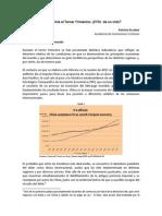 Informe Económico III Trimestre - IC