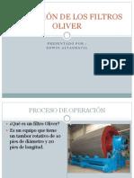 Operación de Los Filtros Oliver