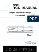 Alpine cha-s624 service manual