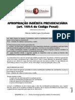 Dizer o Direito Apropriação Indébita Previdenciária - 10 de 2013