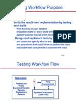 Testing Workflow
