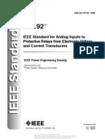 IEEE C37.92-2005