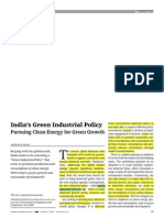 Indias Green Industrial Policy