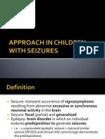 Approach in Children With Seizures