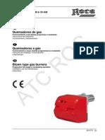 8 Manual Instrucciones Tecno 28 Gm, 38 Gm 50 Gm
