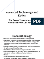 Advanced Technology and Ethics