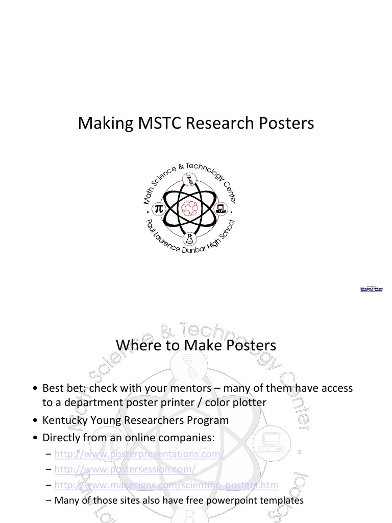 Research Poster Guide | Media Technology | Digital & Social