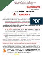 171214_communiqué_ UIT CGT_ Libéralisation de l'Autocar_DANGER