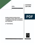 2257-1995 Radiaciones Ionizantes