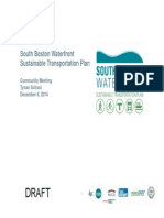 South Boston Waterfront Sustainable Master Plan Presentation 12/8/18