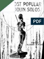 Most Popular Violin Solos