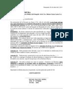Formato de Solicitud de Historia Clinica