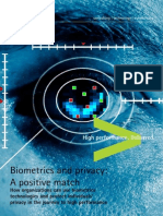 Accenture Biometrics Privacy Positive Match