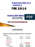 BMSPM2014 KERTAS 2