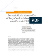 Domesticidad e Intervencion