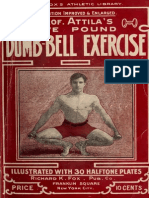 Professor Atilla's Five Pound Dumb-bell Exercise