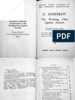 1935 Comintern 7th Congress Part 2 Georgi Dimitrov