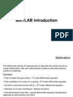 MATLAB Introduction Slides