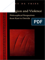 VRIES. Religion and Violence -Derrida-Kant