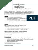 CBMSAPP Module 1 Training Program