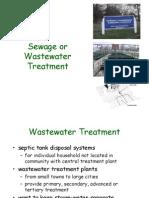 Sewage Treatment (NRES 102)