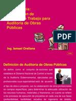 Elaboracion de Papeles de Trabajo Para Proceso Auditoria Obras Publicas