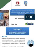 Fundamentos Del SNIP