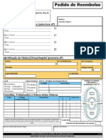 Formulário Reembolso Despesas Generalis