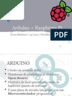 Arduino + RaspberryPi