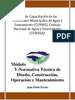 Normativa Tecnica Diseño, Construcción, Operación y Mantenimiento