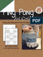 Pingpong Ball Critique