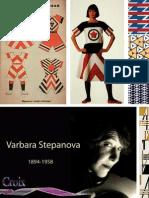 Los Diseños Textiles Abstractos de Varvara Stepanova