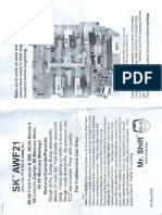 Sk Awf21 Tf-81sc Aw6a-El Instructions