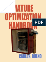 Mature Optimization Handbook