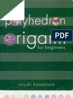 Origami Polyhedron for Beginners by Miyuki Kawamura, 100 Pages, English, EXCELENTES EXPLICACIONES