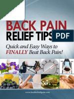 101Tipsback pain