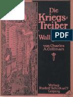 Charles A. Collmann , Kriegstreiber in Wall Street , Leipzig 1917