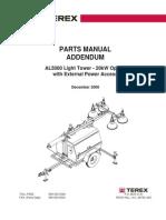 Parts Manual Terex AL5000