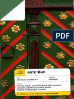 02.Teach Yourself Estonian Book
