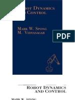 Robot Dynamics and Control, 1° ED. - Mark W. Spong & M. Vidyasacar-1