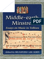 Middle Earth Minstrel