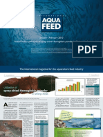 Utilization of spray-dried Hemoglobin powder in Shrimp feeds