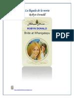 Robyn Donald - La llegada de la novia.docx