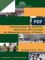 Políticas Educativas 2011 2015