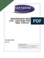 Maintenance Manual Rail RAIL TYPE 03